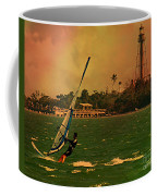 Windsurfer In Paradise Coffee Mug
