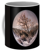 Windswept At Driftwood Beach II Coffee Mug by Debra and Dave Vanderlaan