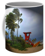 Windy Day In Haleiwa Coffee Mug