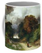 Windy Hilltop Coffee Mug by Thomas Moran