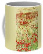 Windy Poppies Coffee Mug