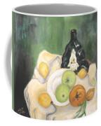 Wine And Fruit Coffee Mug by Caroline Street