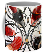 Wine Bottles In Curved Wine Rack Coffee Mug