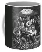 Wine Tasting, 1876 Coffee Mug by Granger