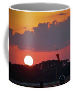 Wings At Rest Under The Sunset Coffee Mug