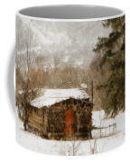 Winter Cabin 2 Coffee Mug