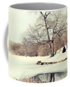 Winter Day In The Park Coffee Mug