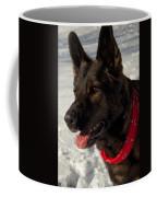 Winter Dog Coffee Mug