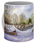 Winter In Ashford Xmas Card Coffee Mug