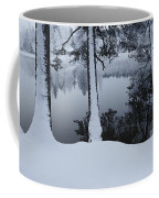 Winter In The Countryside  Bold Tree Coffee Mug