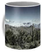 Winter In The Desert Coffee Mug