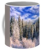 Winter In The Rockies Coffee Mug