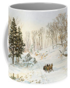 Winter On Ravensdale Road Coffee Mug
