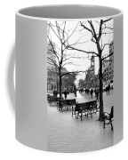 Winter Setting Sun Coffee Mug
