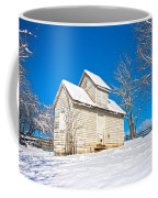 Winter Smoke House Coffee Mug
