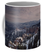 Winter Snow Covers The Landscape Coffee Mug