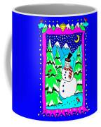 Winter Snowman Coffee Mug