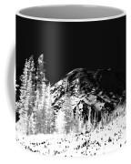 Winter Sunrise On Mount Rainier Coffee Mug