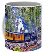 Winter Train Coffee Mug