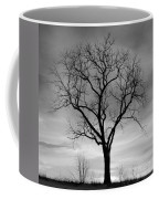 Winter Tree Silhouette Coffee Mug