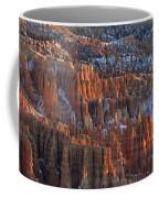 Winter View Of Bryce Canyon National Coffee Mug