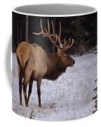 Winter Wapiti Coffee Mug