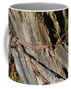 Wired Fence Post Coffee Mug