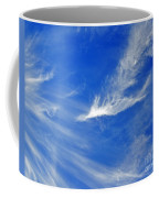Wispy White Coffee Mug