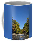 Wissahickon Blue Skies Coffee Mug