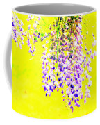 Wisteria Abstract Coffee Mug