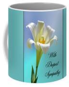 With Deepest Sympathy Coffee Mug