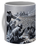 With His Men Concealed Fetterman Waited For The Marauding Indians Coffee Mug