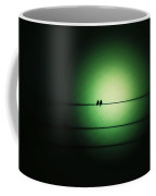 Within The Emerald Glow Coffee Mug