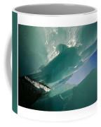 Wolf Creek Flows Through Perennial Ice Coffee Mug by Raymond Gehman