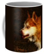 Wolf Or Husky - First Place Win In 'angry Dog Contest' Coffee Mug