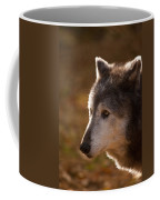Wolf Outlined By The Sun Coffee Mug