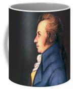 Wolfgang Amadeus Mozart Coffee Mug by Granger