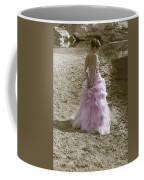 Woman At The Beach Coffee Mug