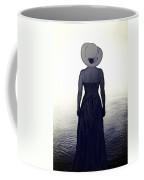 Woman At The Shore Coffee Mug by Joana Kruse