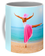 Woman Dancing Coffee Mug
