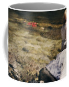 Woman In A River Coffee Mug