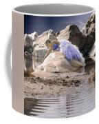 Woman On A Rock Coffee Mug