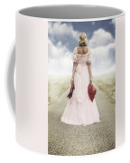 Woman On A Street Coffee Mug