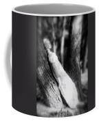 Woman On A Trunk Coffee Mug by Joana Kruse