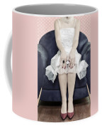 Woman On Chair Coffee Mug by Joana Kruse