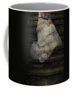 Woman On Steps Coffee Mug