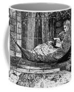 Woman Reading, C1873 Coffee Mug