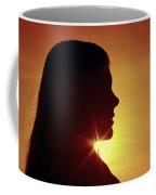 Woman Silhouette Coffee Mug