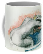 Woman Washing In The Bath Coffee Mug