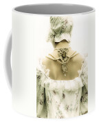 Woman With Bonnet Coffee Mug by Joana Kruse